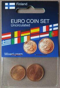 0055 - FINLANDE - 2004 - 1 et 2 cents - UNC