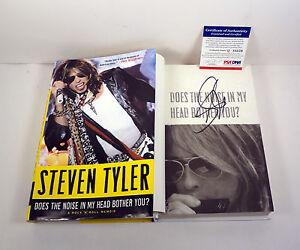 STEVEN-TYLER-AEROSMITH-SIGNED-DOES-THE-NOISE-1ST-EDITION-HC-BOOK-PSA-DNA-COA
