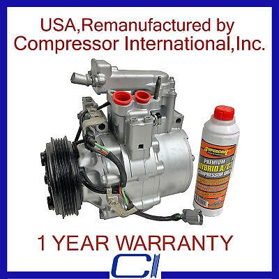 A//C Compressor Clutch Fits Honda Accord V6 3.0L Acura TL OEM USA Reman CL97327