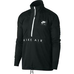 Details zu Nike Sportswear Air Sweatshirt Herren Jacke Sweatshirt Air Pocket Hoodie Schwarz