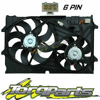 Suit Holden Vy Crewman Adventra V6 Thermo Fans 6 Pin Plug