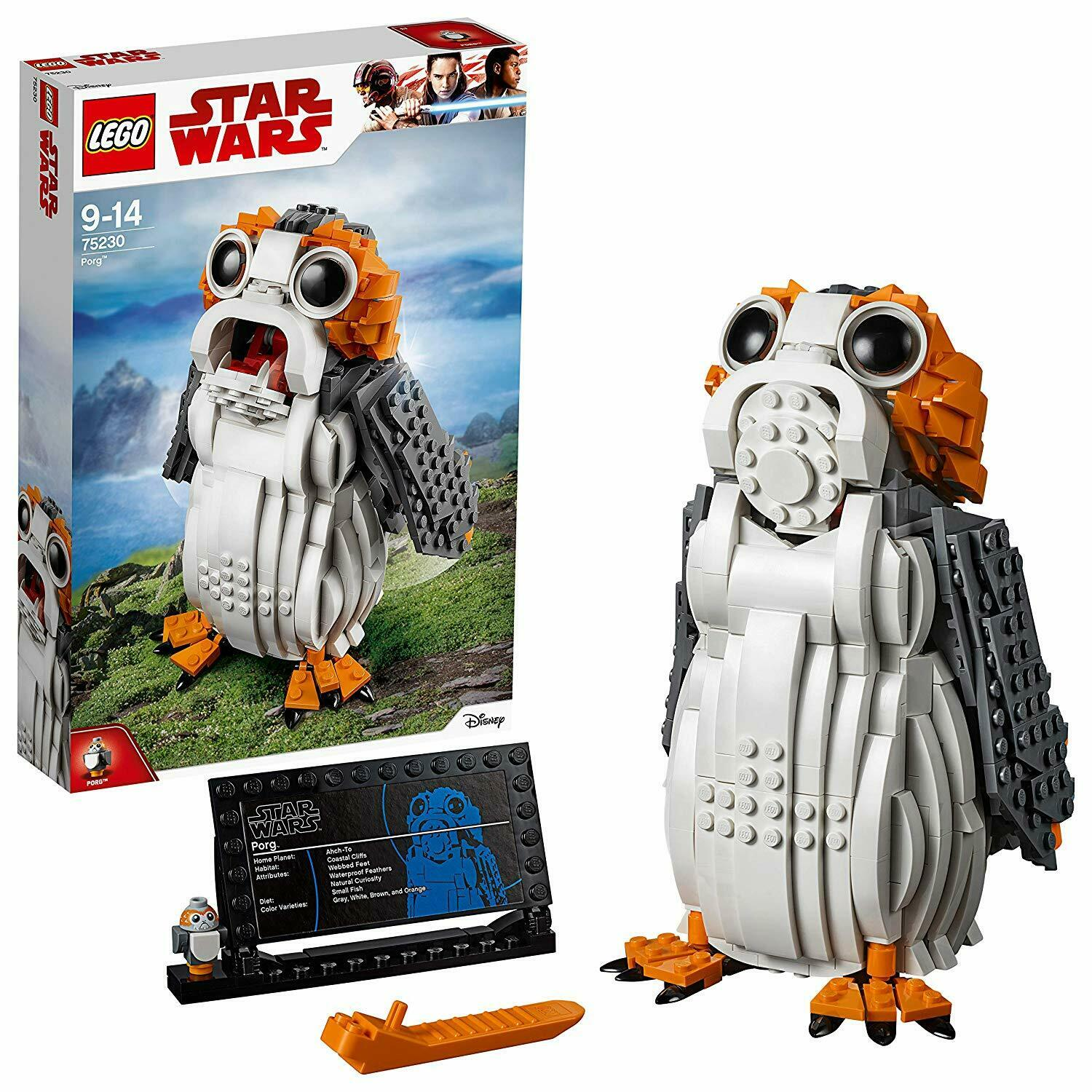 LEGO Star Wars Porg Figure Brick Building Toy Collectible Model Kids Playset New