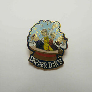 Disney-Dapper-Dan-039-s-Quartet-Pin