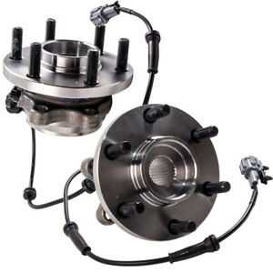 Wheel Bearing In Spanish >> Details About 2 Front Wheel Bearing Hub Hubs For Nissan Navara 4wd D22 D40 Abs Yd25 Vq40 Par