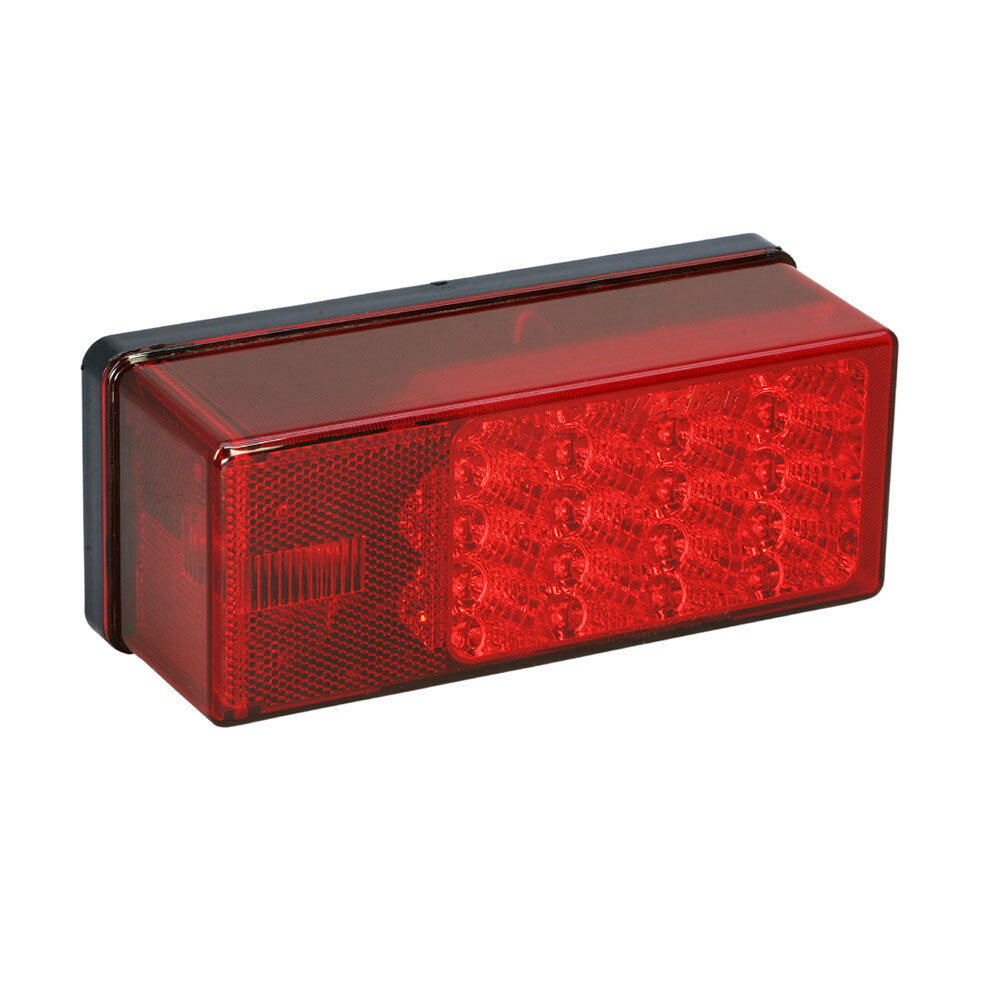 Wesbar 3  x 8  Waterproof LED 7-Function, Right Curbside Tail Light
