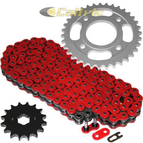 Red O-Ring Drive Chain /& Sprockets Kit Fits HONDA CM400A CM400C CM400E CM400T