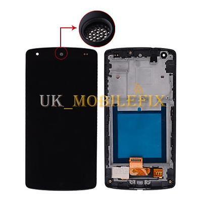 Black LCD Touch Screen Digitizer + Frame For LG Google Nexus 5 D820 D821 UK Ship