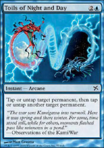 TOILS OF NIGHT AND DAY X4 4 4X Betrayers of Kamigawa MTG Magic Cards DJMagic