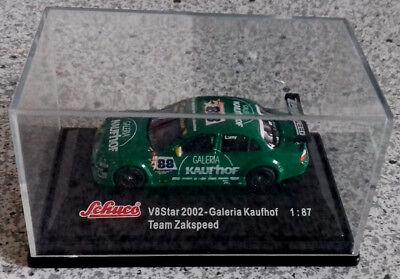 Team Zaakspeed Galeria Kaufhof Auf Der Ganzen Welt Verteilt Werden 2002 Gut Schuco 1:87 V8 Star Jaguar