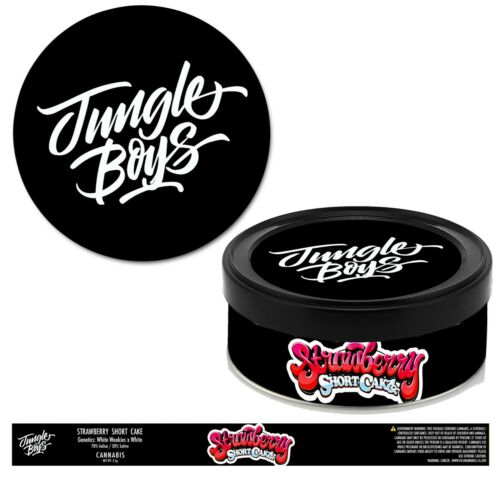 Jungle Boys Cali Cookies PRESS IT IN TINS CALI TUNA CAN PRESSITIN LABELS SEAL UK