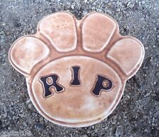 Plaster concrete  plastic RIP dog / cat paw print mold C 5500 molds in my store