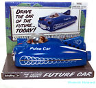 Schylling Future Car Tin Toy Space Ship Pulse Friction Powered Motor