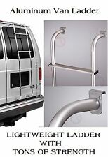 Van Ladder Rear Door Aluminum Mount Step Over Rack Hook For Ford Chevy GMC Dodge