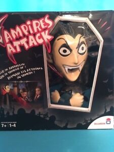 Details about Vampires Attack Game by Dujardin Vampire Hunters Repel  Attacks Halloween RARE!