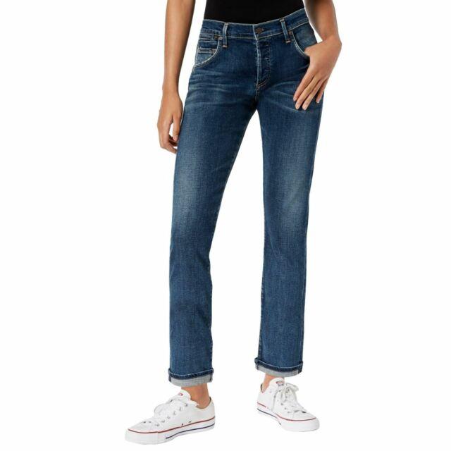 CITIZENS OF HUMANITY NEW Women's Emerson Slim Button-fly Boyfriend Jeans 32 TEDO