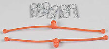 Du-Bro 2252 Body Klip Retainers w/Body Clips (Orange)