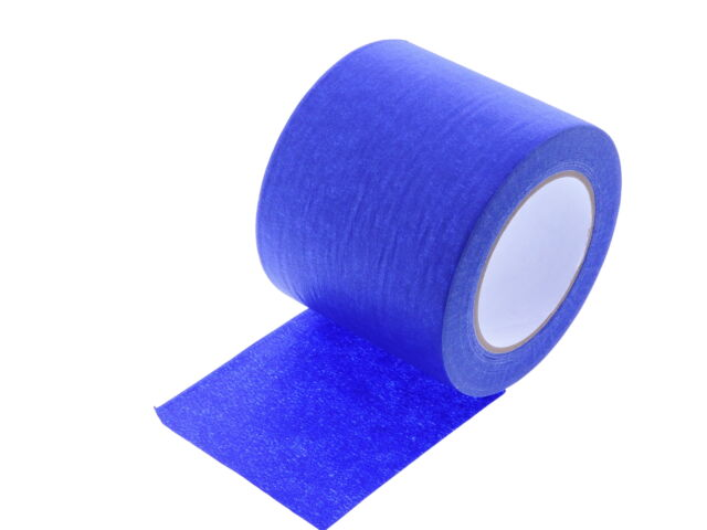 4 In Wide 3d Printing Low Temp Blue Painters Tape Masking Clean Release Easy