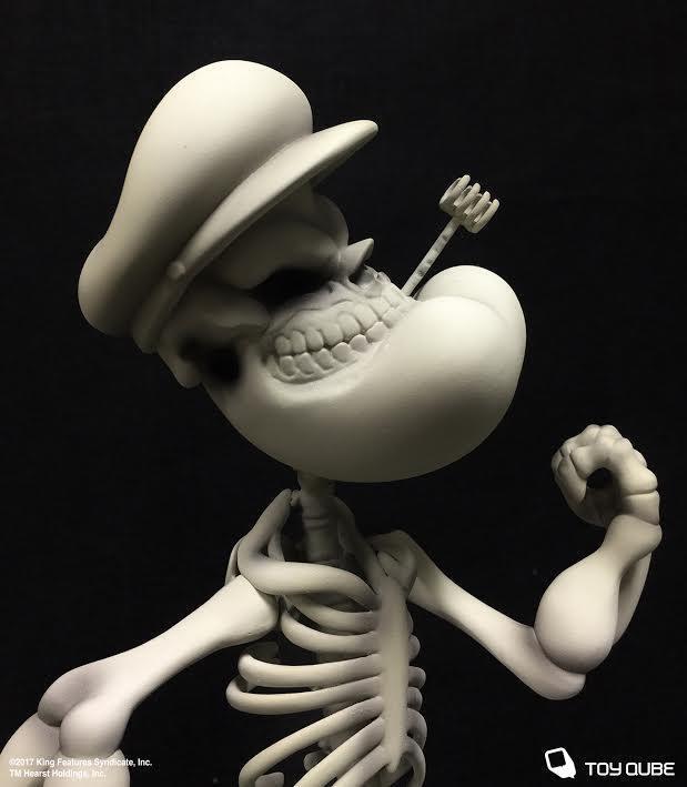 Popeye Grin 10 brillan en la oscuridad figura Ron Inglés X toyqube X Rey Syndicate