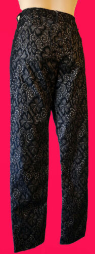 Sort Undertøj Pant Se Nude 6 32 Prince Mesh Gennem Jean Steampunk Gothic Lace gq806a