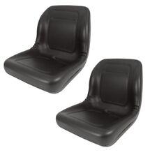 2 Of High Back Seats For John Deere Trail Turf Gator Amp Skid Steer Loader 70 125