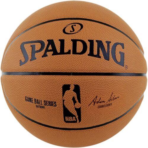 Spalding Basketball NBA Gameball Replica Outdoor Ball Spielball orange Gr 7