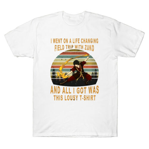 I Went On A Life Changing Field Trip With Zuko Men/'s Cotton Short Sleeve T-Shirt
