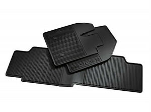 2015 2016 Edge Genuine Ford Black Rubber All Weather Floor