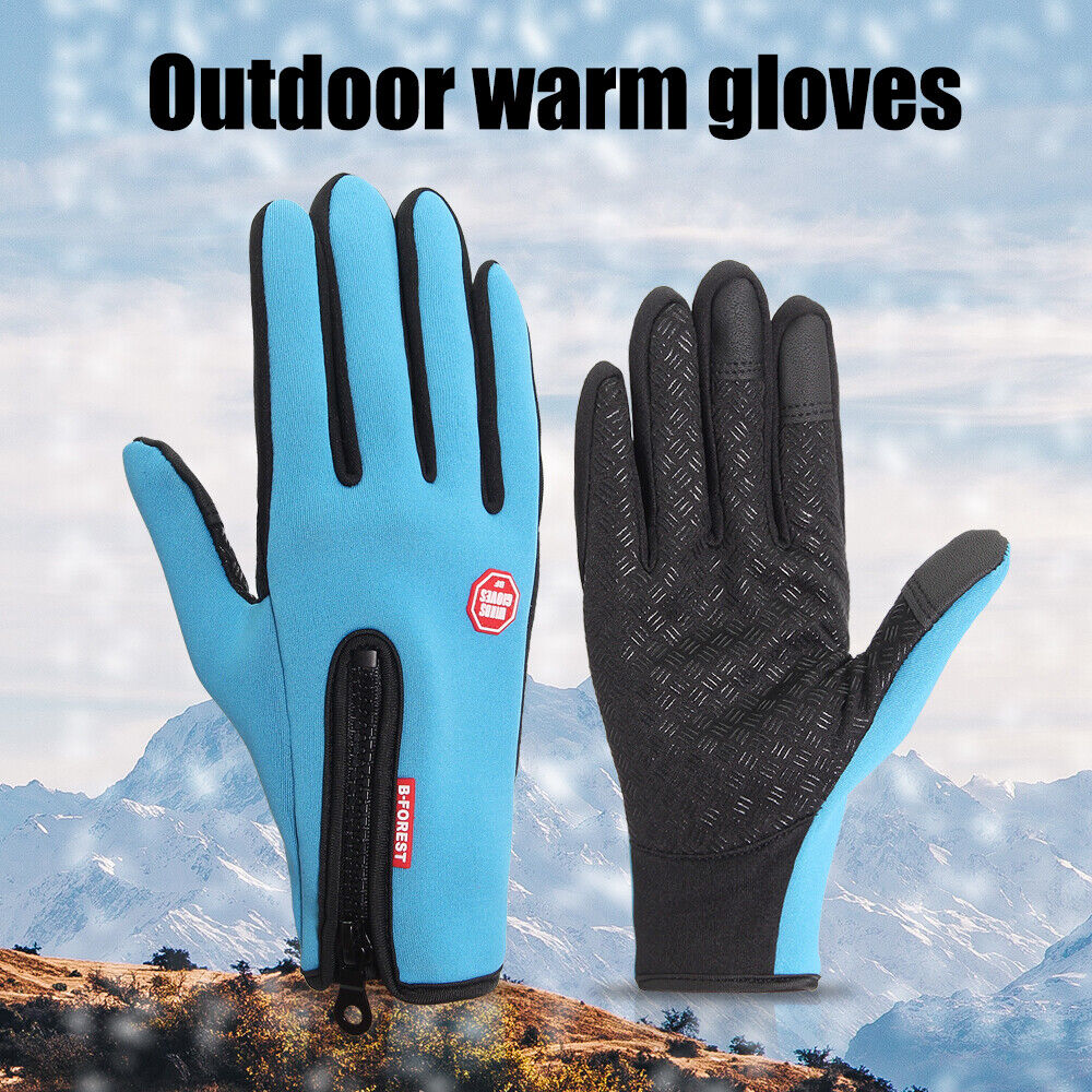 Outdoor Warm Gloves Thermal Windproof Ski Gloves for Cold Weather Men Women