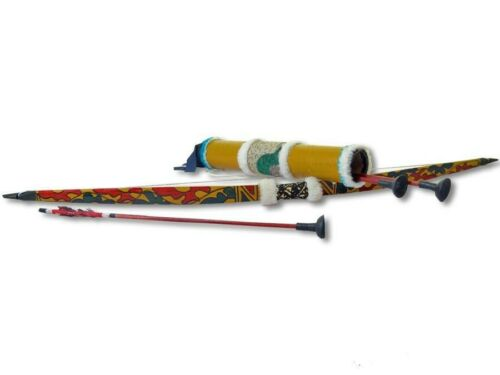 Pfeil und Bogen Kinderbogen-Set Bambus 70cm  Jagdbogen Sportbogen