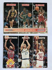 NBA-Basketball-League-Leaders-Armstrong-Mullin-Smith-Stockton-Cards-253-288
