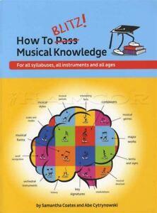 Comment Blitz Musical Connaissance Théorie Music Book Samantha Coates Tous Les Instruments-afficher Le Titre D'origine