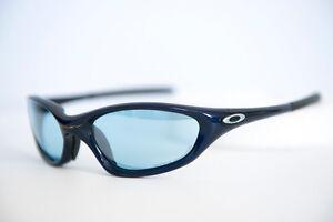 477efe6e85 PROTOTYPE Oakley XX Twenty Navy Titanium Clear Sunglasses RARE ...