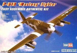 Hobbyboss 1:72 P-51B Mustang Aircraft Model Kit
