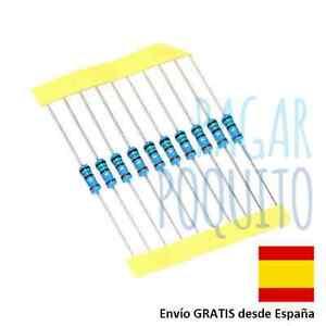 10-Resistencia-a-eleccion-ohm-ohmio-led-Arduino-Raspberry-electronica-robotica