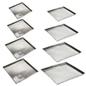 Tablet-Aluminium-Square-Hammered-Massive-Serving-Tray-Bodentablett