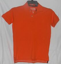 77Kids by AE Polo Pique Shirt 12 L by American Eagle Cotton S/Sleeve Orange
