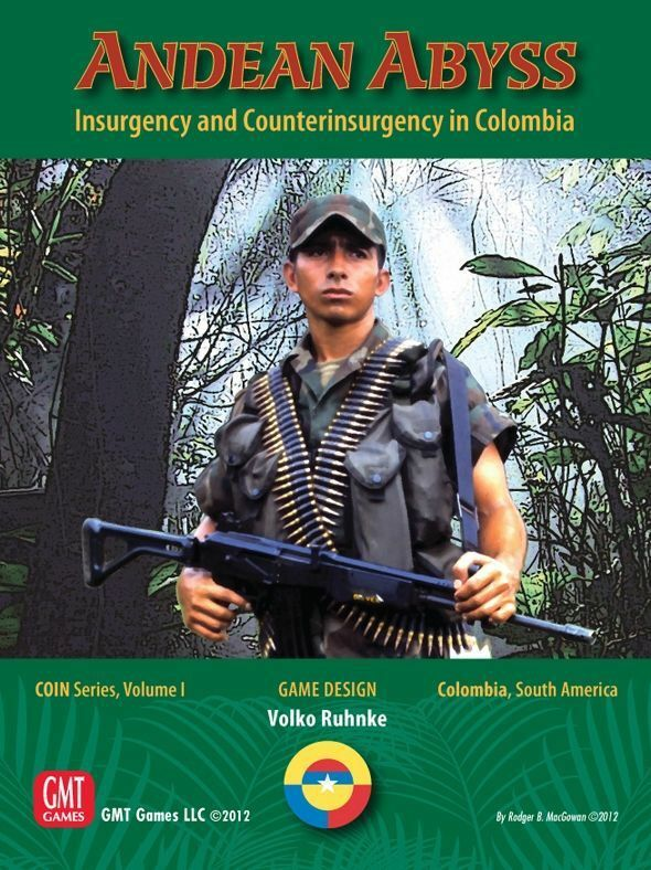 Andean Abyss Insurgency and Countterinsrugency in Columbia GMT Games unpunched