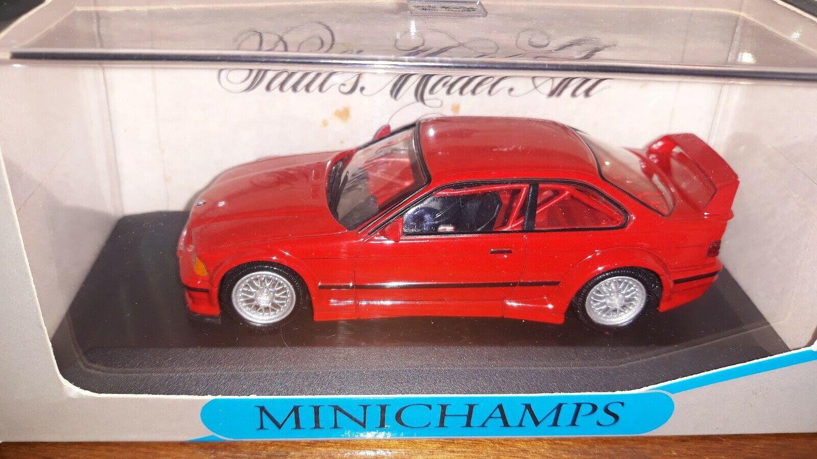 Minichamps 1 43 BMW M3 GTR street 1993 rot