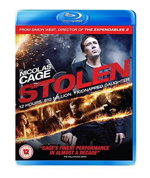 Stolen (Blu-ray, 2013); BRAND NEW, FACTORY SEALED + ADDITIONAL SLIP-ON SLEEVE
