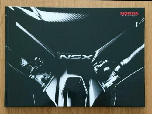 Honda NSX Hardcover Brochure Catalog Japanese Japan Limited Car Book 2018 2019