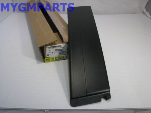 SATURN ION COUPE DRIVERS DOOR REAR BLACK MOLDING PANEL 2003-2007 NEW OE 22720377