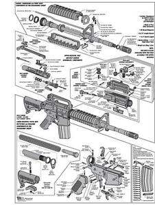ar 15 diagram glossy poster picture photo schematic gun rifle rh ebay com ar 15 diagram cleaning mat ar 15 diagram poster