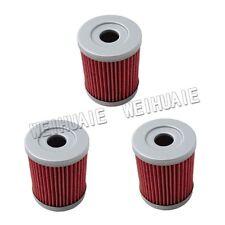3 x Oil Filter for Suzuki DRZ125 DR200SE RV125 LTZ250 LTF250 Ozark AN250