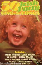 50 Irish Party Sing-A-Longs Cassette Tape 1995