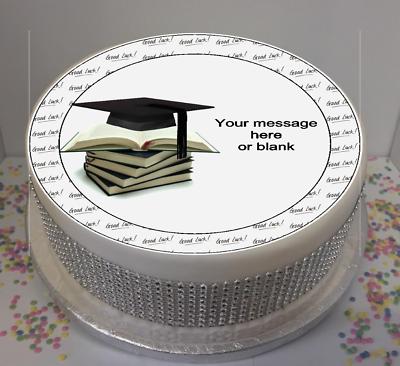 "Personalised University Good Luck 8"" Icing Sheet / Cake ..."