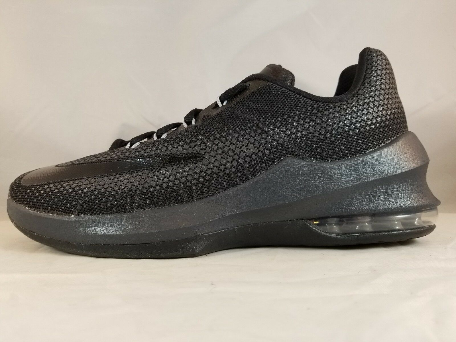 Nike Air Max Infuriate Low Men Basketball Shoe 852457 001 Size 7.5