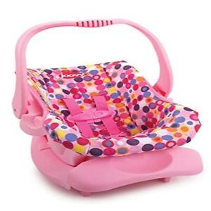 Image Is Loading Doll Or Stuffed Toy Car Seat Pink Dot