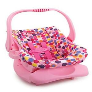 Doll Or Stuffed Toy Car Seat Pink Dot Comfort Comfortable Joovy New ...
