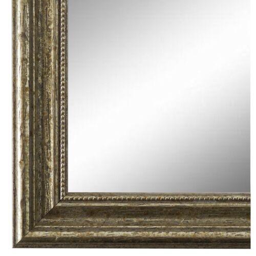 NEU alle Größen Spiegel Wandspiegel Flur Bad  Vintage Holz Silber Livorno 2,7