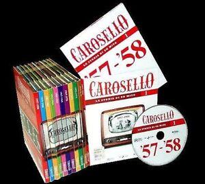 10-Dvd-Lotto-Stock-CAROSELLO-LA-STORIA-DI-UN-MITO-completa-Gassman-Bramieri